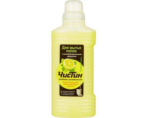 Средство для мытья полов Чистин сочный лимон 1 кг концентрат - (563764К)
