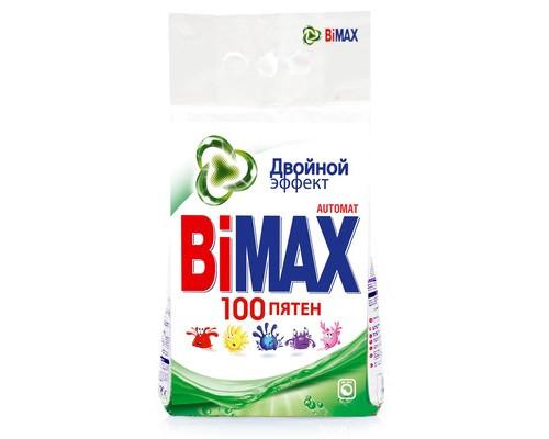 Стиральный порошок BiMax 100 пятен для цветного и белого белья 3 кг отдушки в ассортименте - (394531К)