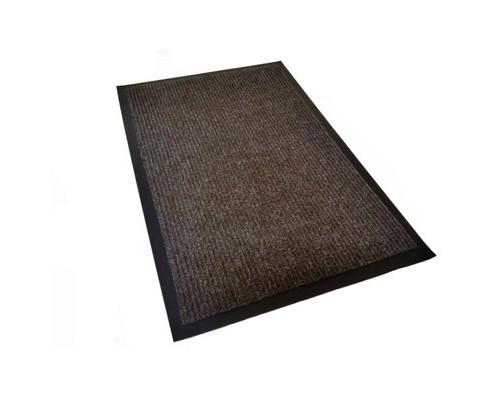 Ковер входной влаговпитывающий КОМФОРТ 90х150 см коричневый - (551672К)