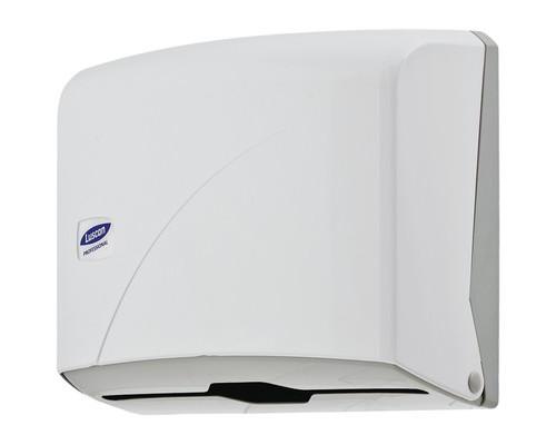 Держатель для полотенец диспенсер Luscan Professional Z пластиковый белый - (479405К)