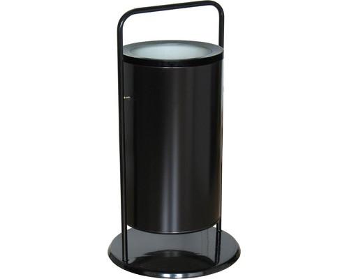 Урна для улицы стальная СЛ3-300 черная 300х510 мм объем 36 л - (486040К)