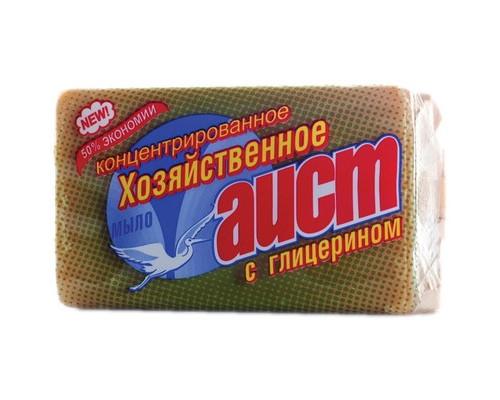 Мыло хозяйственное Аист с глицерином 150 г - (561463К)