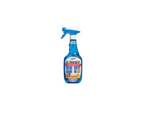 Средство для чистки стекол Bagi КЛИНЕР спрей 500 мл - (611067К)