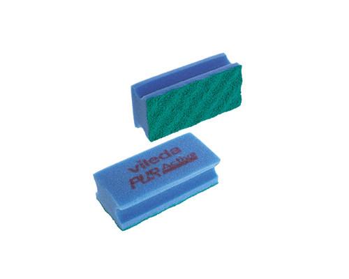 Губки для мытья посуды Vileda Pur Active поролоновые 150x70х45 мм 2 штуки - (116610К)