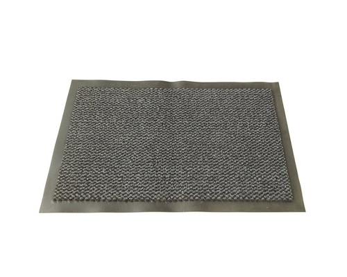 Ковер грязезащитный ворсовый на ПВХ-основе 900х1500х8 мм серый - (44949К)