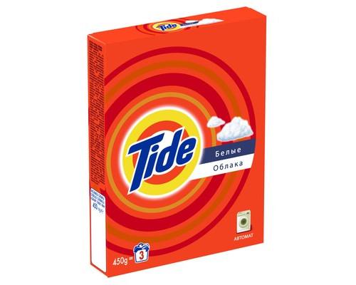 Стиральный порошок Tide автомат для цветного и белого белья 450 г отдушки в ассортименте - (42601К)