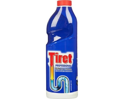 Средство для прочистки труб Tiret гель 1 л - (65518К)