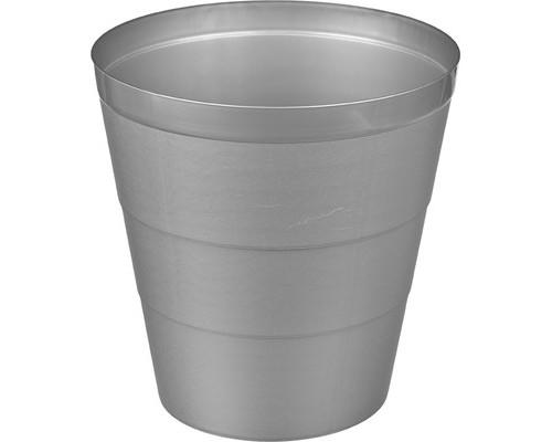 Корзина для бумаг 14 л пластиковая серая - (476505К)