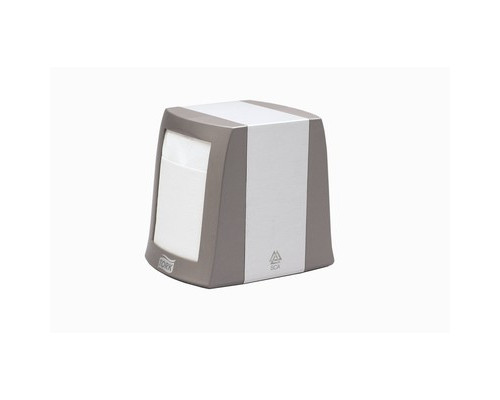 Держатель для салфеток диспенсер Tork N2 металлический серый - (332009К)