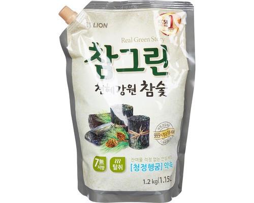 Средство для мытья посуды CJ Lion Charmgreen Древесный уголь 1.2 кг - (620012К)