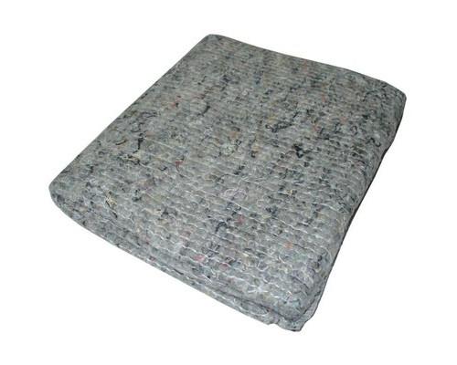 Тряпка для пола из хлопкопрошивного полотна серый цвет 70х80 см 5 штук в упаковке - (604533К)