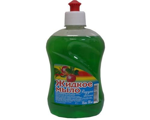 Жидкое мыло Радуга Яблоко 500 мл флакон с пуш-пул - (373779К)