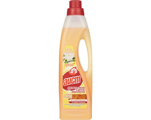 Средство для мытья полов Аист жасмин и яблоневый цвет 950 мл с бактерицидным эффектом - (561469К)