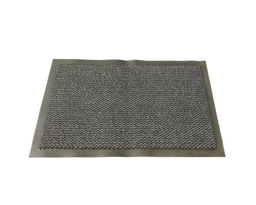 Ковер входной грязезащитный ворсовый на ПВХ основе 1200х1800 мм темно-серый - (396788К)