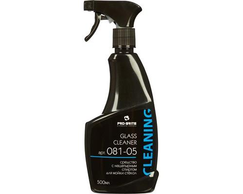 Профессиональное моющее средство для стекол с нашатырным спиртом Pro-Brite Glass Cleaner 500 мл - (604980К)
