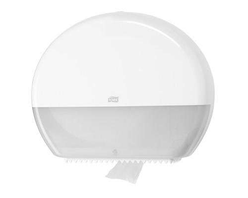 Держатель для туалетной бумаги диспенсер Tork Elevation Т1 554000 пластиковый белый - (336742К)