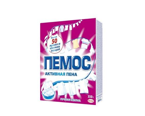 Порошок стиральный Пемос для ручной стирки 350 г отдушки в ассортименте - (66253К)