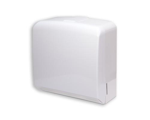 Держатель для полотенец диспенсер Терес FD-528W пластиковый белый - (425630К)
