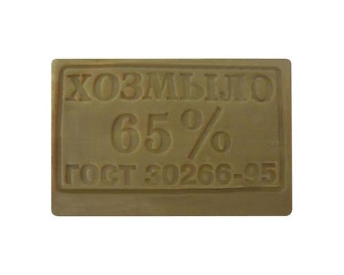Мыло хозяйственное 65% 200гр ГОСТ - (620455К)