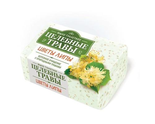 Мыло туалетное Целебные травы 160 г Цветы липы - (604055К)