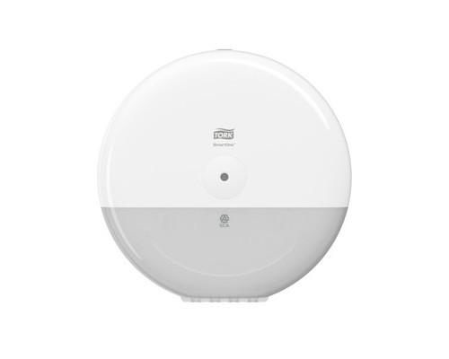 Держатель для туалетной бумаги диспенсер Tork SmartOne Elevation Т8 680000 пластиковый белый - (548831К)