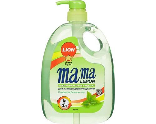 Средство для мытья посуды концентрированное Mama Lemon зеленый чай 1000 мл - (601042К)