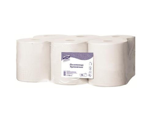 Полотенца бумажные в рулонах Luscan Professional 2-слойные 6 рулонов по 150 метров - (613119К)