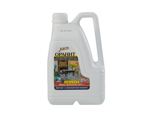 Средство для мытья полов Bagi Оранит 3 литра концентрат - (51276К)