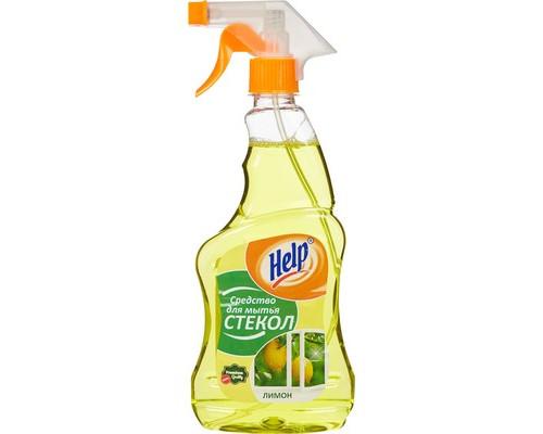 Средство для мытья стекол Help 500 мл отдушки в ассортименте - (144336К)