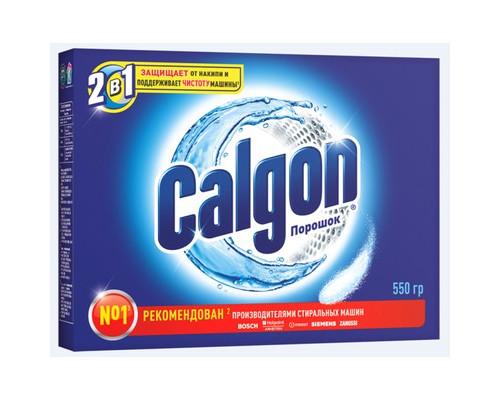 Средство для удаления накипи Calgon 2 в 1 порошок 550 г - (135543К)