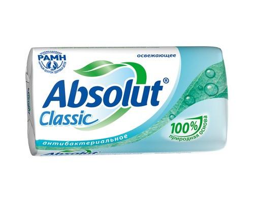 Мыло туалетное Absolut Classic антибактериальное 90 г - (363575К)