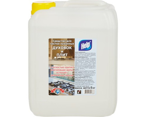 Чистящее средство для плит Help гель 5 л - (219411К)