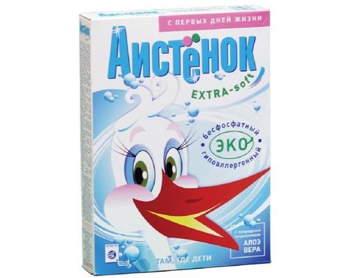 Порошок стиральный АИСТЕНОК Soft extra 400 г - (561460К)