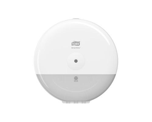 Держатель для туалетной бумаги диспенсер Tork SmartOne T9 681000 пластиковый белый - (548833К)