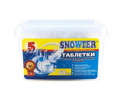 Таблетки для посудомоечных машин Snowter 60 шт/уп - (647128К)