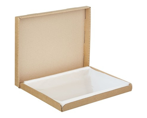 Файл-вкладыш Attache А4 35 мкм гладкий прозрачный 200 штук в упаковке - (604956К)