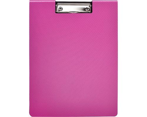 Папка-планшет с крышкой Attache Selection А4 пластиковая розовая 2.3 мм - (476527К)