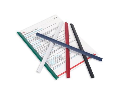 Скрепкошина для брошюровки Durable А4 черная до 60 листов - (49034К)