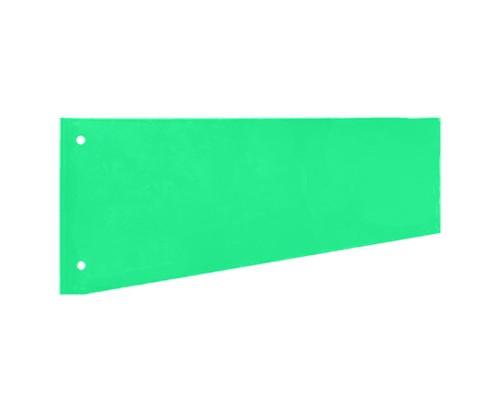 Разделитель листов Attache картонный 100 листов зеленый 230x120 мм - (216165К)