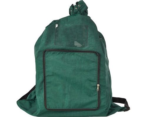 Папка-рюкзак Attache для секретных документов нейлоновая зеленая 800x600 мм 1 отделение - (621838К)