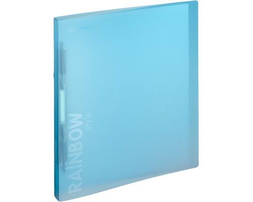 Папка-скоросшиватель с пружинным механизмом Attache Rainbow Style пластиковая А4 голубая 0.45 мм до 150 листов - (488260К)