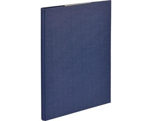 Папка-планшет Attache А4 с верхней створкой синяя 1,75 мм - (611514К)