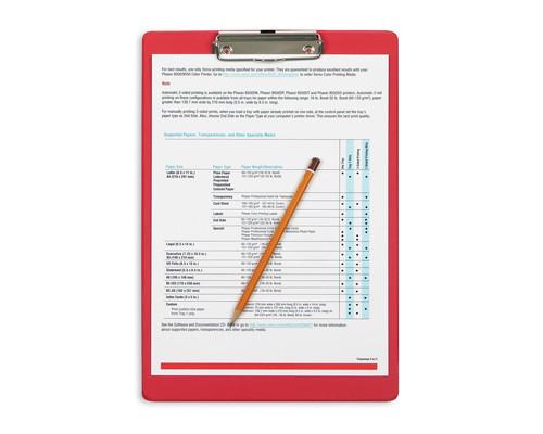 Папка-планшет Bantex А4 картонная красная 2.7 мм - (48666К)