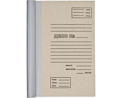Папка для переплета картон-бумвинил бурая 216х104х310 мм - (268810К)