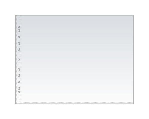 Файл-вкладыш Attache А3 35 мкм гладкий прозрачный горизонтальный 50 штук в упаковке - (166833К)