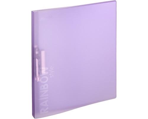 Папка с зажимом Attache Rainbow Style А4 0.45 мм фиолетовая до 150 листов - (488258К)