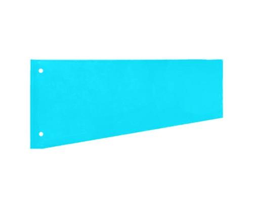 Разделитель листов Attache картонный 100 листов голубой 230x120 мм - (216166К)