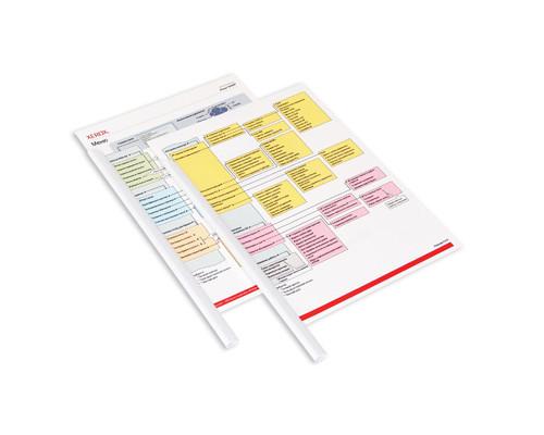 Скрепкошина для брошюровки Durable А4 белая до 60 листов - (49035К)