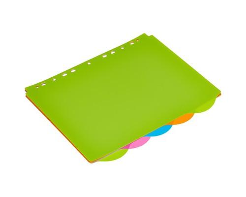 Разделитель листов Attache Selection А4+ пластиковый 5 листов - (474677К)