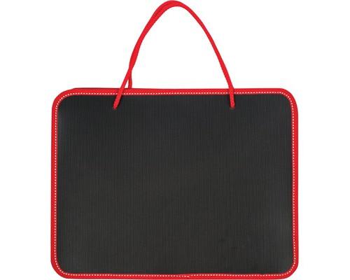 Папка-портфель пластиковая А4 черная 270x350 мм 1 отделение - (268869К)